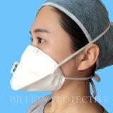 Ffp1 Mask White Color, Folded Style, Valve