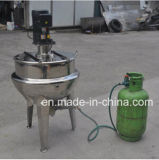 Electric Heating Industrial Cooking Jacket Kettle with Mixer