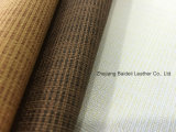 Fashion Design PVC Synthetic Leather for Sofa/Furniture/Bag with Fire Resistance