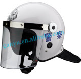 Police Riot Safety Helmet with Face Shield