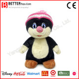 Custom Plush Stuffed Animals Mole Soft Toy for Baby Kids Play