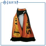 Low MOQ Logo Printed Promotional Woven Fan Scarf