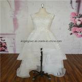 Elegant Lace Sleeveless Bridal Wedding Dress