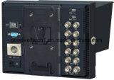 "1280x 800 7""LCD Monitor with 3G-Sdi, HDMI, YPbPr Input, IPS Panel"