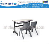 Metal Kindergarten Furniture Classroom Table and Chair Set (HF-07908)