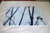 Polyester Artistry Machine Washable Flooring Custom Bathroom Bath Rug