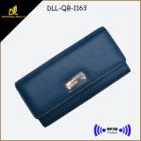 Leather Bifold Lady Wallet RFID Women Wallet