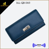 Leather Bifold Lady Wallet RFID Women Wallets
