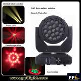 Endless Rotation B-Eye 19X15W LED Moving Head Zoom Light