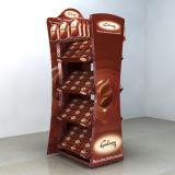 Custom Made Acrylic Chocolate Floor Display Racks