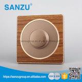 High Quality Fan Speed Dimmer Wood Socket