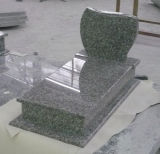 Popular G664 Bainbrook Brown Granite Polish Style Tombstone
