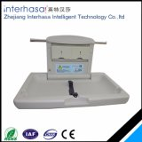 Wall-Mounted Plastic Folding Baby Changing Station Table in Public Places