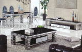 Luxury Design Black Glass Coffee Table