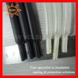 Black & Transparent Flexible Dual Wall Heat Shrink Tube (SBRS-125H (3X))