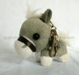 OEM Plush Stuffed Donkey Toy Keyring Keychain Key Ring Chain