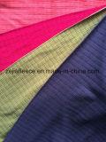 Drop Needle Micro Fleece Fabric with Square Design