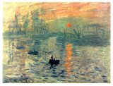Famous Artists Oil Painting, Masterpiece Oil Painting, Impression Sunrise (1872years) -Claude Monet
