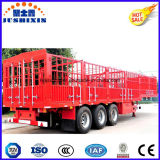Factory Direct Price 3 Axles Two Storages Livestock Stake Utility Cargo Truck Semi Trailer for Cattle Transortation