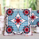 Jacquard Flower Fleece Cushions Cover