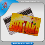 Laser Foil Laminated PVC Gift Cards for Anti Fake
