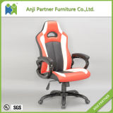 Special Design Red PU Leather Armrest Swivel Gaming Chair (Kernel)