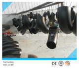 Seamless Carbon Steel A234wpb Fittings Buttweld Elbows with Black Painting