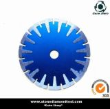 Continuous T Segment Turbo Rim Diamond Curved Saw Blade