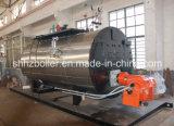 500-10000kg/H Fire Tube 3 Pass Wet Back Type Oil Fired Steam Boiler