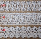 High Quality Chemical Water Soluble Milk Yarn Embroidery Lace for Garment