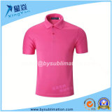 Dacron Sublimation Tshirt Quick-Dry Polo T-Shirt