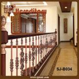 Modern Design Red Antique Stair Balustrade for Railing (SJ-B034)