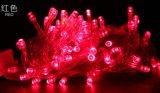 10 Meter String of 100 LED Solar Powered Fairy Light