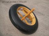 15 Inch Solid Rubber Powder Wheel