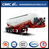 Cimc Huaun Leightweight Bulk Cement Tanker with Single Tire