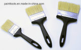 Bristle Brush with Black Plastic Handle