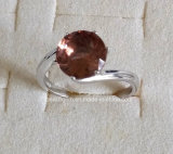 Jewellery-Synthetic Zultanite Sterling Silver Ring (R1579)