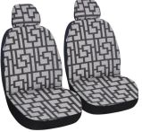Universal Fit 4PCS Full Set Jacquard Fabric Soild Comfortable Car Seat Cover
