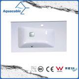 Artificial Stone Rectangular Bathroom Vanity Top Acb8047