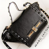 2014 Fashion Ladies Desiger Handbags with Colored Metal