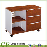 Open Shelf Movable Office Storage Cabinet