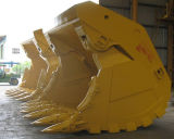 Face Shovel Bucket for Komatsu Excavator PC1250, PC2000