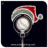 Santa Claus Motif LED Pole Motif Light Street Motif Light