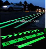 Luminescent Powder Road Mark Use
