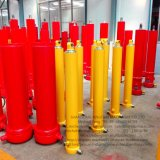 Multistage Telescopic Front End Types Single Acting Hydraulic Cylinder