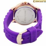 Colorful Fashion Lady Silicone Wrist Watches (SA2116-5)
