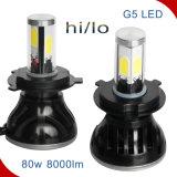 Manufacturer Auto Part LED Hi/Lo Beam Lamp Head Car Light 40W 4000lm H4