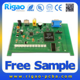Prototype SMT and DIP Rigid PCB Assembly