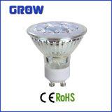 CE Approved 5W Glass GU10 LED Spotlight (GR709)