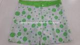 Oeko-Tex Flat Waist Polyester Patterned Lady Board Short Swimwear